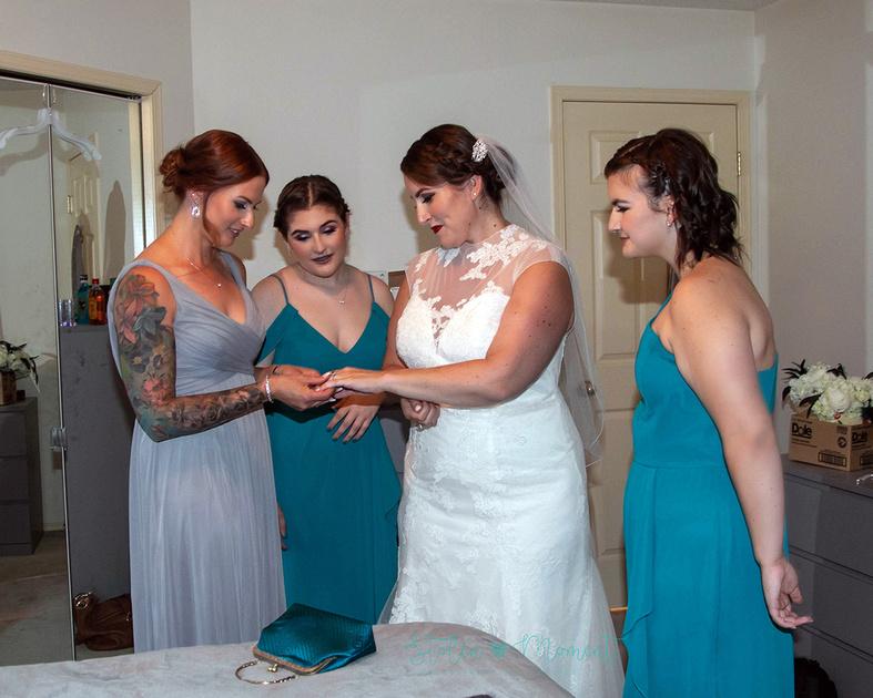 Wedding Party at Lion's Park St. Albert