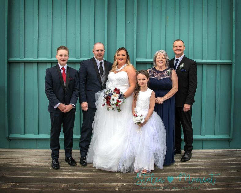 Beautiful fall wedding with Kacie and Scott